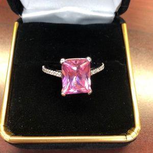 Pink Ice Ring